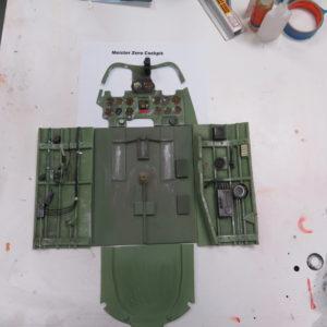 Meister Zero cockpit
